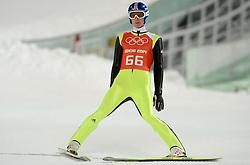 06-02-2014 SCHANSSPRINGEN: OLYMPIC GAMES: SOTSJI<br /> Training Schansspringen op het Russki Gorki Jumping Center / Severin Freund GER<br /> ©2014-FotoHoogendoorn.nl<br />  / Sportida