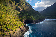 Pelekunu Valley, North Shore, Molokai, Hawaii