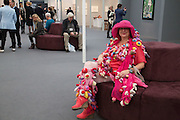 ALEXANDRA FLY , Frieze MASTERS. Regent's Park. London. 16 October 2013