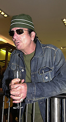 Interior designer MR NICKY HASLAM, at a party <br /> in London on 8th May 2000.ODN 42