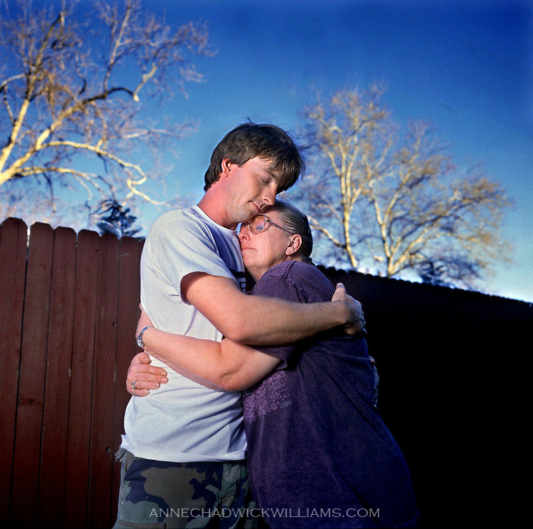 Bonnie Collins and John Sanders, mother and son, are reunited after 24 years apart on March 17, 2000. Collins thought her son was dead. Sanders thought his mother abandoned him.
