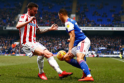 Myles Kenlock of Ipswich Town Tom Edwards of Stoke City - Mandatory by-line: Phil Chaplin/JMP - 16/02/2019 - FOOTBALL - Portman Road - Ipswich, England - Ipswich Town v Stoke City - Sky Bet Championship