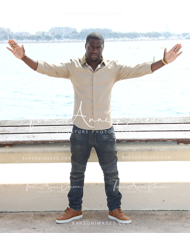 CANNES, FRANCE - APRIL 08:  Actor Kevin Hart attends photocall for the 'Real Husband of Hollywood' at MIPTV on April 8, 2013 in Cannes, France.  (Photo by Tony Barson/Getty Images)