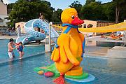 Kinderplanschbecken, Strandbad, Baden bei Wien, Niederösterreich, Österreich .|.Strandbad, Baden, Niederösterreich, Austria..