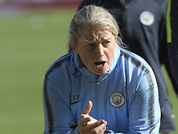 February 23, 2019 - Sheffield, England, United Kingdom - Manchester City Assistant coach JT during the  FA Women's Continental League Cup Final  between Arsenal and Manchester City Women at the Bramall Lane Football Ground, Sheffield United FC Sheffield, Saturday 23rd February. (Credit Image: © Action Foto Sport/NurPhoto via ZUMA Press)
