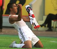 Fotball: 1:1 Torjubel  Giovane ELBER Bayern<br />Bayer Leverkusen - Bayern München  1:1