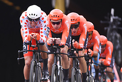 July 7, 2019 - Bruxelles, Belgium - BRUSSELS, BELGIUM - JULY 7 : VAN AVERMAET Greg (BEL) of CCC TEAM during stage 2 of the 106th edition of the 2019 Tour de France cycling race, a team time trial of 27,6 kms with start and finish in Brussels on July 07, 2019 in Brussels, Belgium, 7/07/2019 ( Motordriver Kenny Verfaillie - Photo by Vincent Kalut / Photo News. (Credit Image: © Panoramic via ZUMA Press)