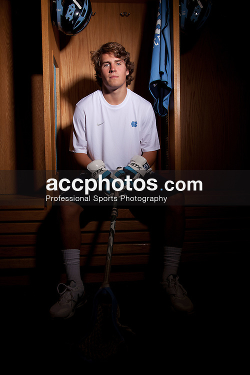 27 August 2011: Jack McBride and Dave Emala of the University of North Carolina Tar Heels men's lacrosse team. (Photo by Peyton Williams for US Lacrosse)