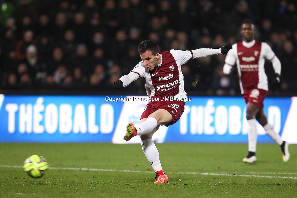Frederico ANDRADA - 03.12.2014 - Metz / Bordeaux - 16eme journee de Ligue 1 -<br />Photo : Fred Marvaux / Icon Sport