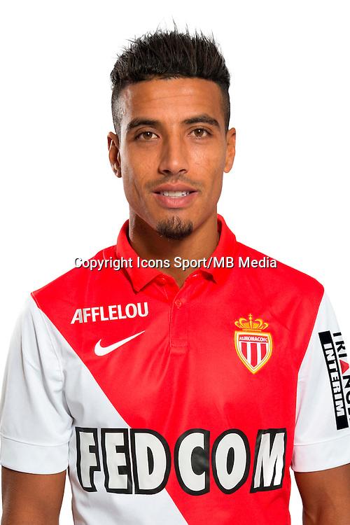Nabil DIRAR - 29.08.2014 - Photo officielle Monaco - Ligue 1 2014/2015<br /> Photo : Stephane Senaux / AS Monaco / Icon Sport