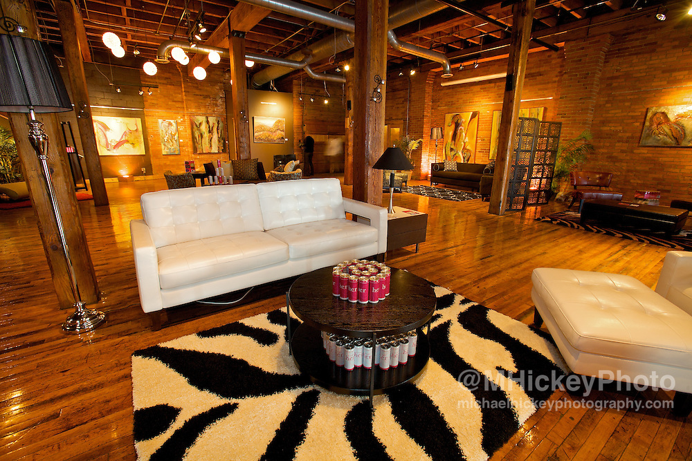 Interior photo taken prior to Her House Party in Indianapolis, In on May 22, 2009.<br /> Photo by Michael Hickey