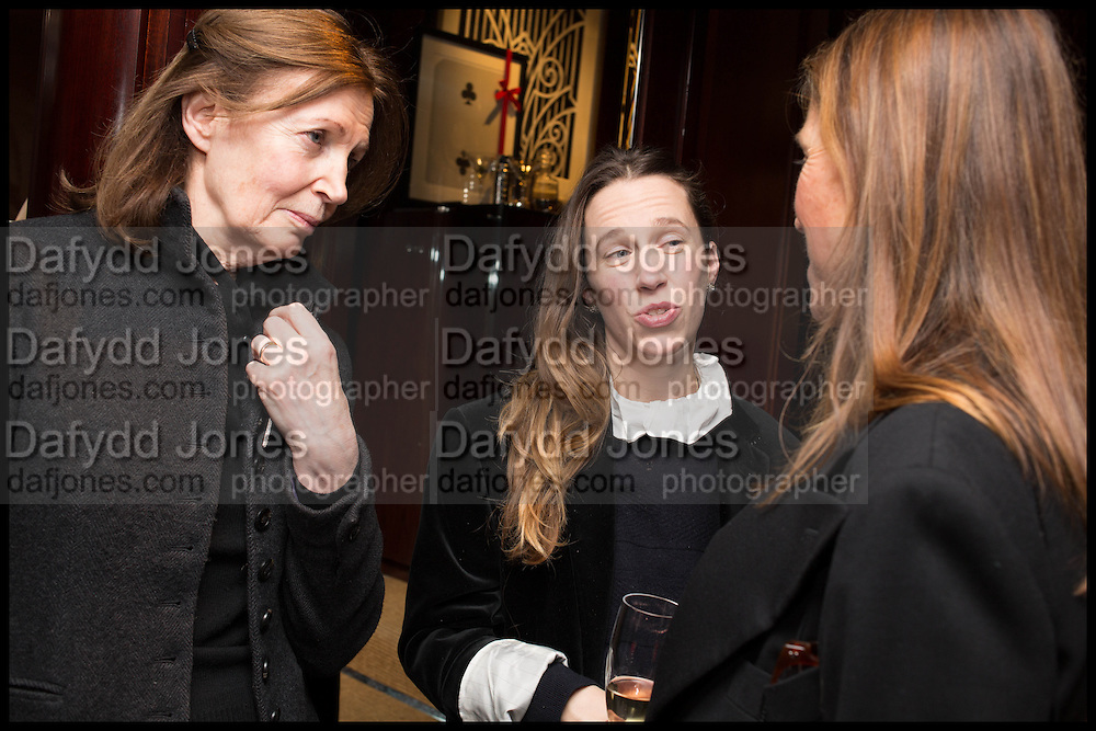 THE COUNTESS OF SNOWDON; LADY FRANCES ARMSTRONG-JONES, Ralph Lauren host launch party for Nicky Haslam's book ' A Designer's Life' published by Jacqui Small. Ralph Lauren, 1 Bond St. London. 19 November 2014
