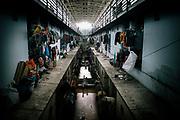 Tenements that house Burmese workers in the Thai fishing industry in Samut Sakhon.                     Logements qui abritent des travailleurs birmans de l'industrie de la pêche thaïlandaise à Samut Sakhon