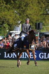 Beerbaum Ludger, (GER), Casello<br /> Longines Global Champions Tour - Grand Prix of Hamburg<br /> Hamburg - Hamburger Derby 2016<br /> © Hippo Foto - Stefan Lafrentz