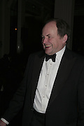 Clive Anderson,  Costa Book Awards 2006. Grosvenor House Ballroom. Park Lane, London. 7 February 2007. -DO NOT ARCHIVE-© Copyright Photograph by Dafydd Jones. 248 Clapham Rd. London SW9 0PZ. Tel 0207 820 0771. www.dafjones.com.