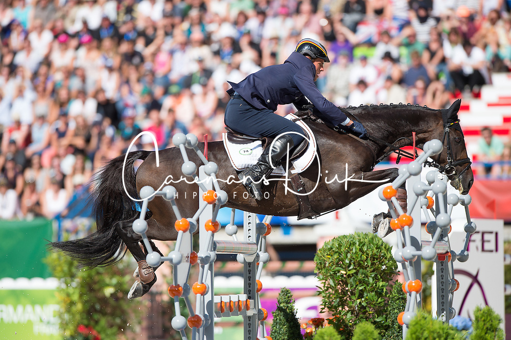 Andreas Ostholt, (GER), So Is Et - Jumping Eventing - Alltech FEI World Equestrian Games™ 2014 - Normandy, France.<br /> © Hippo Foto Team - Jon Stroud<br /> 31-08-14
