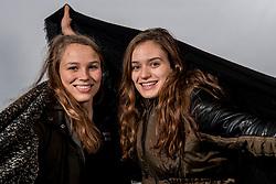08-12-2017 NED: Dagmar Boom &amp; Sarah van Aalen, Arnhem<br /> Sarah van Aalen en Dagmar Boom, speelsters van Jong Oranje