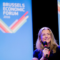 Brussels, Belgium, 9 June 2016<br /> Brussels Economic Forum 2016.<br /> Paulina Dejmek-Hack, Financial Adviser , President Juncker's Cabinet.<br /> The Brussels Economic Forum (BEF) is the flagship annual economic event of the European Commission.<br /> The BEF brings together top European and international policymakers and opinion leaders as well as civil society and business leaders. It is the place to take stock of economic developments, identify key challenges and debate policy priorities.<br /> Photo: European Commission / Ezequiel Scagnetti