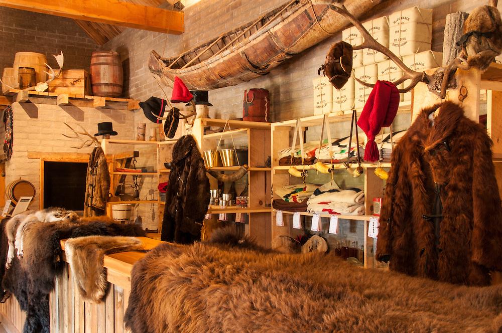 Trading Post at Fort Benton National Historic Landmark; Fort Benton, Montana.