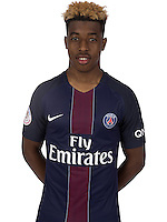 Presnel Kimpembe of PSG during PSG photo call for the 2016-2017 Ligue 1 season on September, 7 2016 in Paris, France<br /> Photo : C.Gavelle/ PSG / Icon Sport