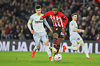 Football - 2018 / 2019 FA Cup - Third Round Replay: Southampton vs. Derby County<br /> <br /> Southampton's Kayne Ramsay in action during the FA Cup replay at St Mary's Stadium Southampton<br /> <br /> COLORSPORT/SHAUN BOGGUST