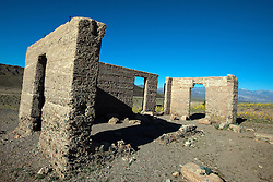 Ashford Mill ruins, Death Valley National Park, California, United States of America