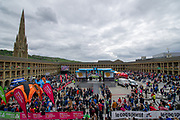 A general view inside Piece Hall Halifax prior to stage 4 of the Tour de Yorkshire from Halifax to Leeds, , United Kingdom on 4 May 2019.