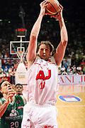 DESCRIZIONE : Milano Lega A 2008-09 Playoff Finale Gara 4 Armani Jeans Milano Montepaschi Siena<br /> GIOCATORE : Denis Marconato<br /> SQUADRA : Armani Jeans Milano<br /> EVENTO : Campionato Lega A 2008-2009 <br /> GARA : Armani Jeans Milano Montepaschi Siena<br /> DATA : 16/06/2009<br /> CATEGORIA : Rimbalzo<br /> SPORT : Pallacanestro <br /> AUTORE : Agenzia Ciamillo-Castoria/G.Cottini