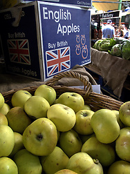 UK ENGLAND LONDON 27JUL13 - Produce on display on a stall at Borough Market, Southwark, London.<br /> <br /> It is one of the largest and oldest food markets in London, and sells a large variety of foods from all over the world.<br /> <br /> <br /> <br /> jre/Photo by Jiri Rezac<br /> <br /> <br /> <br /> &copy; Jiri Rezac 2013