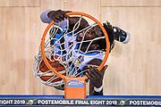 Andrew Crawford of Vanoli Cremona   <br /> Vanoli Cremona - Segafredo Virtus Bologna<br /> Postemobile Final Eight 2019 Zurich Connect<br /> Basket Serie A LBA 2018/2019<br /> FIRENZE, ITALY - 16 February 2019<br /> Foto Mattia Ozbot / Ciamillo-Castoria