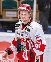2020-01-17 | Umeå, Sweden: Timrå (54) Jonathan Dahlén  sad unhappy disappointed in HockeyAllsvenskan during the game  between Björklöven and Timrå at A3 Arena ( Photo by: Michael Lundström | Swe Press Photo )<br /> <br /> Keywords: Umeå, Hockey, HockeyAllsvenskan, A3 Arena, Björklöven, Timrå, mlbt200117, sad unhappy disappointment disappointed dejected