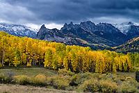 View near Silver Jack Reservoir/Owl Creek Pass, Colorado.