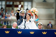 WEDDING OF PRINCE CARL PHILIP AND Princess SOFIA hellqvist