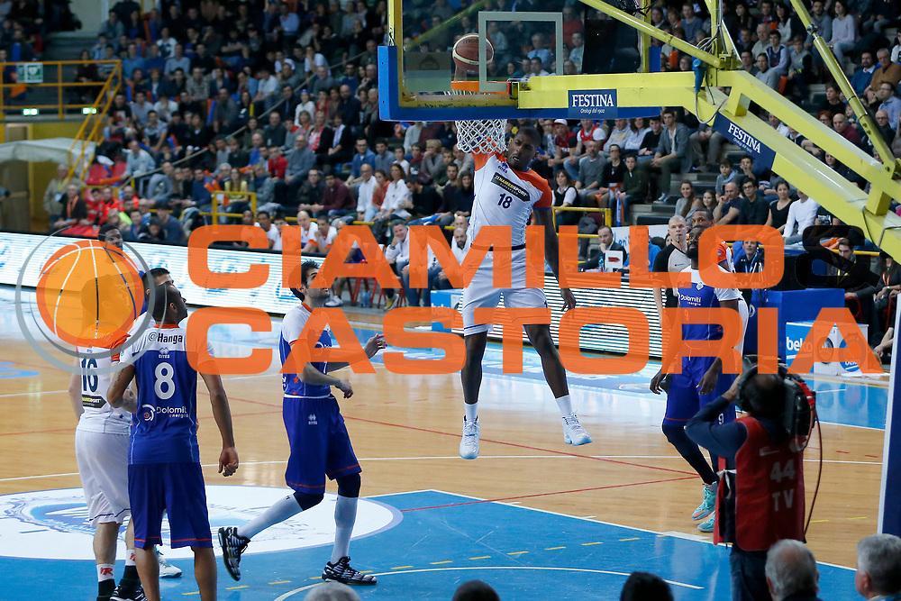 DESCRIZIONE : Verona Lega A 2014-15 All Star Game 2015 <br /> GIOCATORE : DeQuan Jones<br /> CATEGORIA : Schiacciata<br /> EVENTO : All Star Game Lega A 2015<br /> GARA : All Star Game Lega 2015<br /> DATA : 17/01/2015<br /> SPORT : Pallacanestro <br /> AUTORE : Agenzia Ciamillo-Castoria/G.Contessa<br /> Galleria : Lega A 2014-2015 <br /> Fotonotizia : Verona Lega A 2014-15 All Star game 2015