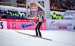 20.01.2018, Heini Klopfer Skiflugschanze, Oberstdorf, GER, FIS Skiflug Weltmeisterschaft, Einzelbewerb, Siegerehrung, im Bild Andreas Wellinger (GER) // Andreas Wellinger of Germany during Winner Award Ceremony of the individual competition of the FIS Ski Flying World Championships at the Heini-Klopfer Skiflying Hill in Oberstdorf, Germany on 2018/01/20. EXPA Pictures © 2018, PhotoCredit: EXPA/ Peter Rinderer