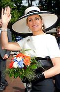 26-5-2014 - OLDENBURG - Koning Willem Alexander  en Koningin Maxima brengen een tweedaags werkbezoek aan Nedersaksen en Noordrijn-Westfalen op maandag 26 en dinsdag 27 mei  2014. <br /> COPYRIGHT ROBIN UTRECHT