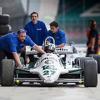 #27, Williams FW07 (1980), Judy Lyons (GB), Silverstone Classic 2015, FIA Masters Historic Formula One. 25.07.2015. Silverstone, England, U.K.  Silverstone Classic 2015.