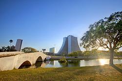 Localizado no centro de Porto Alegre, a Ponte de Pedra é um monumento histórico da cidade de Porto Alegre. Está situada no local denominado Largo dos Açorianos. FOTO: Jefferson Bernardes/Preview.com