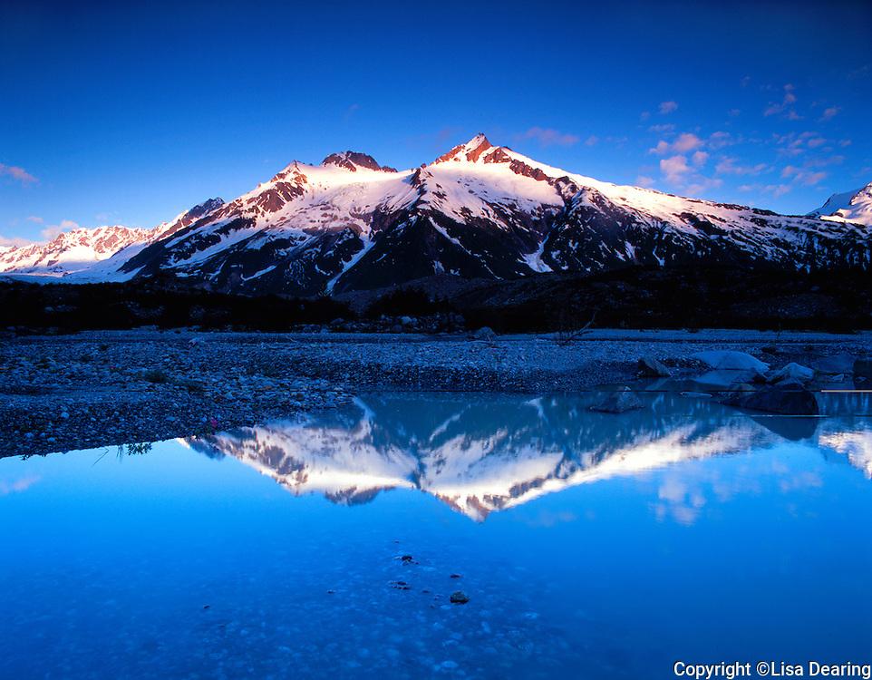 Stock photo of glacial pool in Brabazon Rangeof Alsek River Corridor in southeast  Alaska
