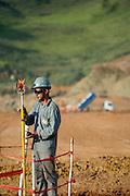 Jeceaba_MG, Brasil...Construcao de uma usina siderurgica em Jeceaba...The construction of the steel industry in Jeceaba. ..Foto: BRUNO MAGALHAES / NITRO