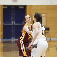 Women's Basketball: Carleton College Knights vs. Concordia College, Moorhead Cobbers