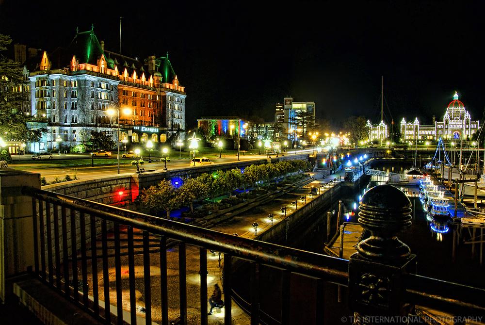 Empress Hotel & British Columbia Parliament Building, Victoria