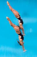 CAGNOTTO Tania, DALLAPE' Francesca Italia Silver Medal <br /> Rio de Janeiro 07-08-2016 Maria Lenka Aquatics Center  <br /> Diving Women's Synchronised 3m Springboard<br /> Tuffi Trampolino Sincronizzato 3m Sincro <br /> Foto Andrea Staccioli / Deepbluemedia /Insidefoto