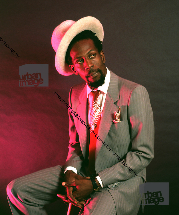 Gregory Isaacs Lovers Rock photosessions UK 1987