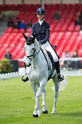 Tew Julie, (GBR), Lord Of The Owls<br /> Dressage <br /> Mitsubishi Motors Badminton Horse Trials - Badminton 2015<br /> © Hippo Foto - Jon Stroud<br /> 07/05/15