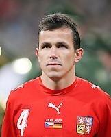 Fussball  International   EM Qualifikation  Deutschland 0-3 Tschechien Tomas Galasek (CZE)