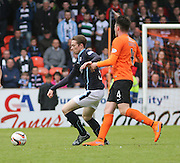 Dundee's Craig Wighton and Dundee United's John Souttar - Dundee United v Dundee at Tannadice Park in the SPFL Premiership<br /> <br />  - © David Young - www.davidyoungphoto.co.uk - email: davidyoungphoto@gmail.com