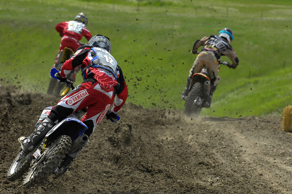 Blair, Tyler and Jeff battle for the podium at Regina