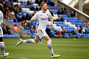 Wycombe defender Jason McCarthy (26) celebrates his goal 2-1 during the EFL Sky Bet League 1 match between Peterborough United and Wycombe Wanderers at London Road, Peterborough, England on 2 March 2019.