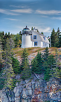 Bear Harbor Lighthouse, near Bar Harbor, Maine, U.S.A.
